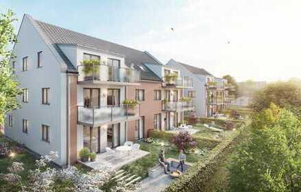 Bauabschnitt 2 - Neubau Wohnanlage Sudetenlandpark 11 - 104qm Gartenwohnung - Haus 3.1