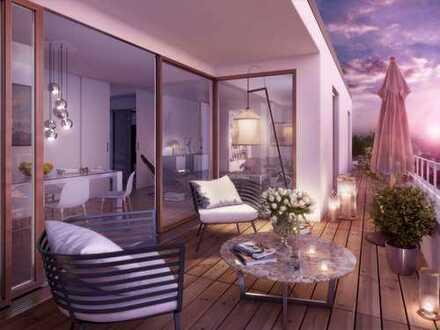 Der besondere Wohngenuss: 5-Zimmer-Penthouse mit feinster Ausstattung und umlaufender Dachterrasse