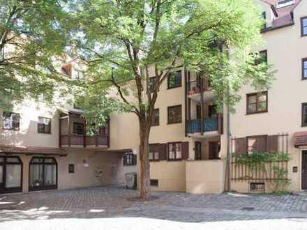 Augsburg Altstadt - komfortables, modernes, helles Appartement in verkehrberuhigter Zentrumslage