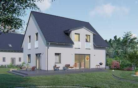 "Unser ""Family 132"" Neubau-Energie-Spar-Haus in Bobingen."