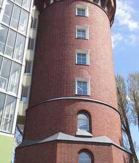 Runde Wände! Wo? Im Wasserturm!