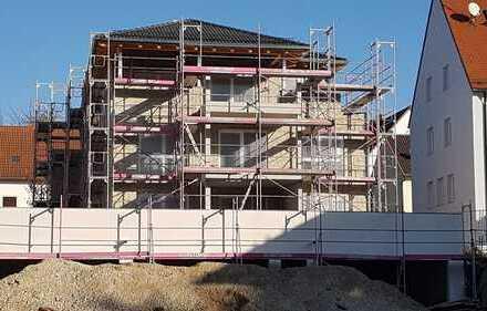 Neubau!! Schöne Wohnung im Ortskern mit Ausblick