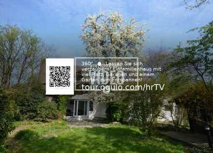Ein schönes Einfamilienhaus! Mit einem Garten der viele Möglichkeiten bietet.