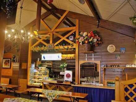 Veranstaltungs-Holzstadl mit kompletter Gastro und Kücheneinrichtung