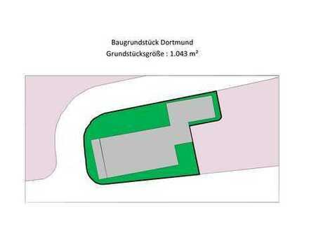 Abrissgrundstück in Dortmund