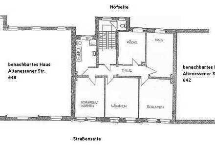 4,5 Zimmer Wohnung in E-Altenessen-Nord