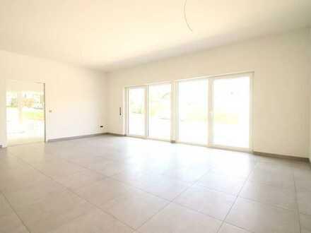 Großzügige Neubau 3-Zimmer-Erdgeschosswohnung in einer Doppelhaushälfte inmitten von Gomadingen!