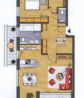 Komfortable 4-Zi- Maisonettewohnung mit toller Ausstattung und 3 Balkonen