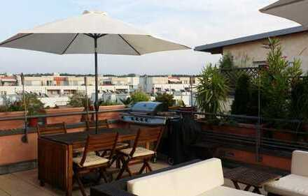 Lage - Erlangen/Röthelheimpark - Lichtdurchflutete 4-Zimmer- Wohnung mit ca. 33 m² Dachterrasse!