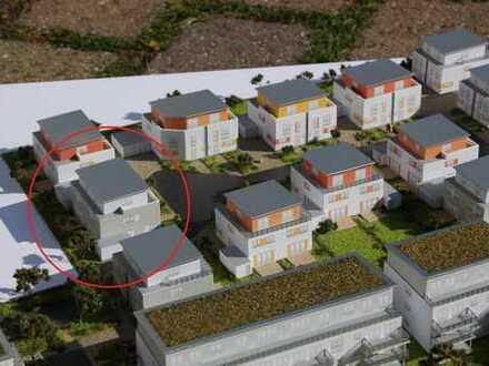 Moderne Doppelhaushälfte mit Garage und Garten zum Erstbezug
