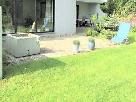 In gehobener Lage sich wohlfühlen - Eigentumswohnung in den Birken mit Terrasse und Garage