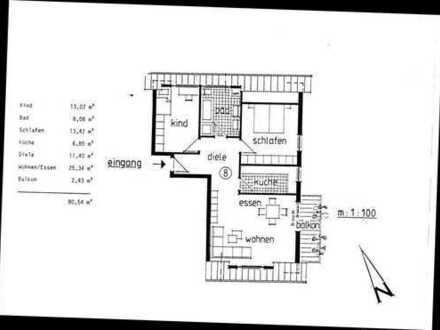 Ruhiges Wohnen in 3 sonnigen DG-Zi. einer gepflegten Anlage