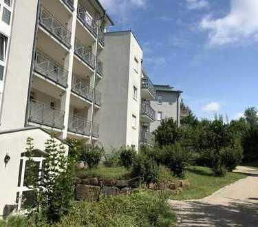 Neu sanierte Ein-Zimmer-Erdgeschoss-Wohnung mit kleiner Terrasse in Leonberg Nähe Stadtpark