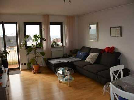 3-Raum-Wohnung mit Balkon und Einbauküche in Ober-Olm