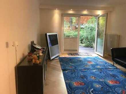 Zwei-Zimmer-Erdgeschoss-Wohnung zu verkaufen