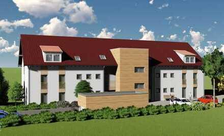 Vier Zimmer mit ca. 102 qm, Balkon, Aufzug, Tiefgarage ein Wohnjuwel an der Via Claudia in Hurlach