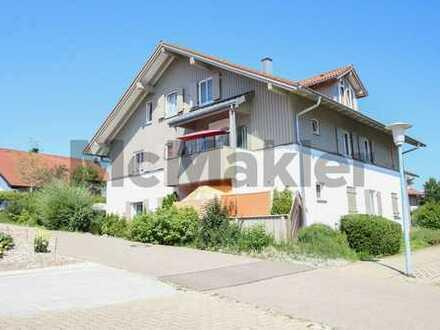 Eigene 4 Wände oder Kapitalanlage - Neuwertige 3-Zi.-ETW mit toller Terrasse nahe Kempten