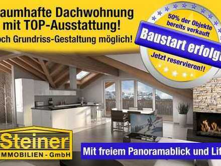 Bau-Start !! exk.4-Zimmer-Neubau-Dachgeschoss-Wohnung ca.93,6m²,LIFT,TG-Platz, WHG-NR.7