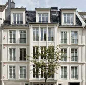 Luxuriöse 4-Zimmer-Wohnung direkt am Rhein (Düsseldorf-Golzheim)