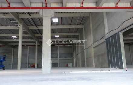 Projektierter Neubau einer hochmodernen Lager-und Logistikimmobilie