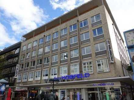 Arbeiten in der Fussgängerzone von Dortmund in hellen Büroräumen, beste Infrastruktur!
