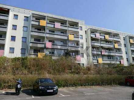 Bezugsfrei: Gepflegte Eigentumswohnung mit Balkon, nahe den Gärten der Welt