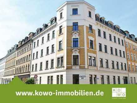 Große 2-Raum-Wohnung mit Tageslichtbad und Laminat und Leipzig-Lindenau