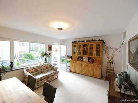elvirA! Milbertshofen, ruhige, sonnige, frisch renovierte 3-Zimmer Wohnung mit Loggia und Garten