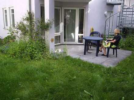 Pfiffige 2,5-Zimmer-Wohnung mit Garten mitten in der Altstadt von Herrenberg