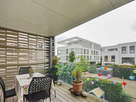 Moderne Crossover-Wohnung mit toller Dachterrasse inkl. TG-Stellplatz