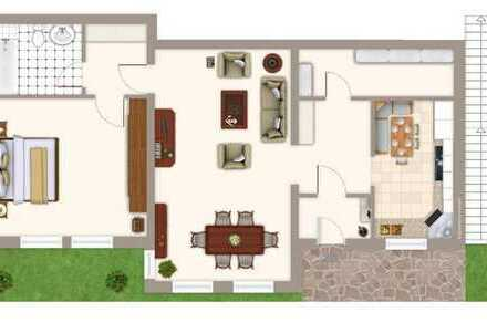 Freundliche 2-Zimmer-Wohnung mit Terrasse und EBK in Furtwangen