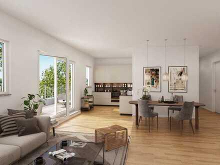 Ihr Freiraum! 4-Zi.-Wohnung mit 2 Bädern und Dachterrasse in idyllischer Lage mit bester Anbindung