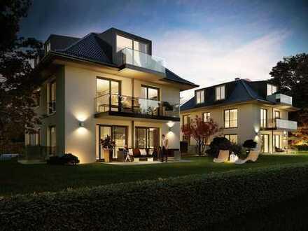 MONTELAGO – Wohnen auf höchstem Niveau! Neubau-Villa mit 7 Zimmern + 4 Bädern! 400m zum See!