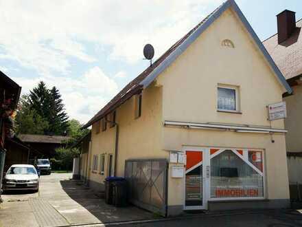 Wohn- und Geschäftshaus direkt an der B3 in Schallstadt zu verkaufen.
