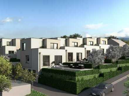 Neubauprojekt - Gartenhofhaus mit 3 Terrassen und Ziergarten