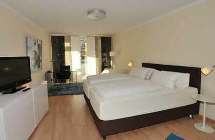 Ruhiges 1-Zimmer Appartement mit Balkon in Uni-Nähe