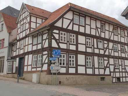 Historisches Fachwerkhaus mit Geschichte im Zentrum von Korbach - WBS erforderlich