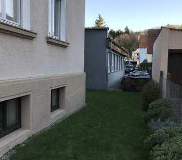 Zentrumnahes 2-Familienhaus mit Gewerbegebäude und Grundstück