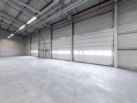 """""""BAUMÜLLER & CO."""" - ca. 8.000 m² Hallenfläche - top Anbindung!"""