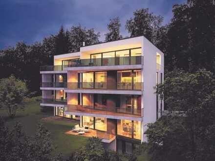 Erstbezug: Moderne 3-Zimmer-Wohnung mit hochwertiger Einbauküche und Terrasse + Garten