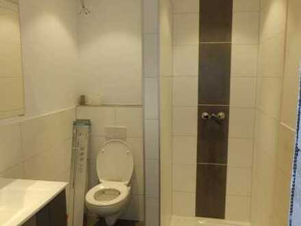 Vollständig renovierte 1-Raum-Wohnung mit Balkon und Einbauküche in Mespelbrunn