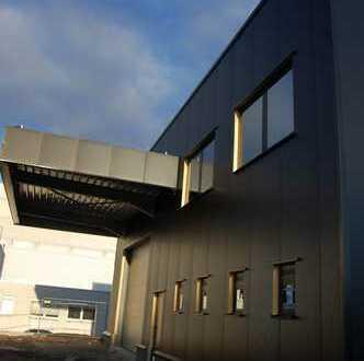 Neubau – Lagerhalle nebst top modernen Büroflächen im Gewerbegebiet Zinkhütte