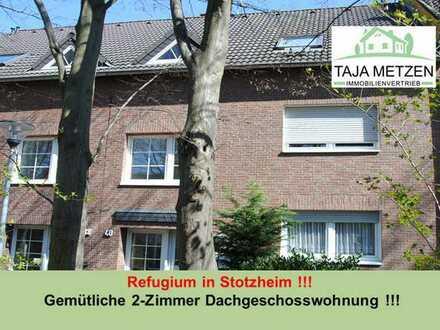 Refugium in Stotzheim !!! Gemütliche 2-Zimmer Dachgeschosswohnung !!!