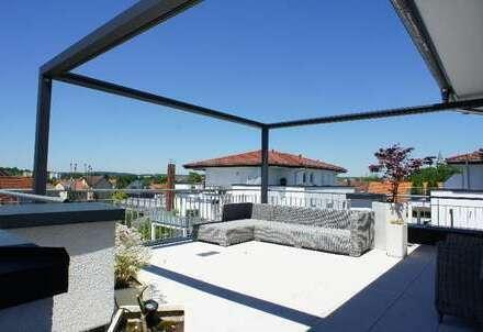 + tolle Penthouse-Wohnung mit großer Dachterrasse +
