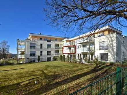Schöne 2-Zimmer-Etagenwohnung mit großzügigem Südbalkon in Herrsching am Ammersee