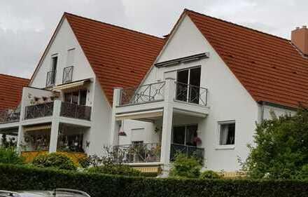 Attraktive 4-Zimmer-Dachgeschosswohnung mit Balkon und Einbauküche( ohne Elektrogeräte) in Worms