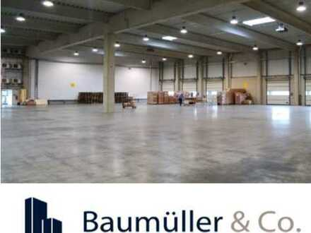 8.000 qm Hallenfläche - kurzfristig / 2,50 €/qm -