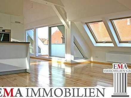 Vermietete 3-Zimmer-Dachgeschosswohnung mit Terrasse
