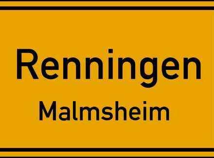 Gepflegte 4 Zimmer-Wohnung mit Terrasse/Balkon/Einbauküche/Tiefgaragenstellplatz in Malmsheim