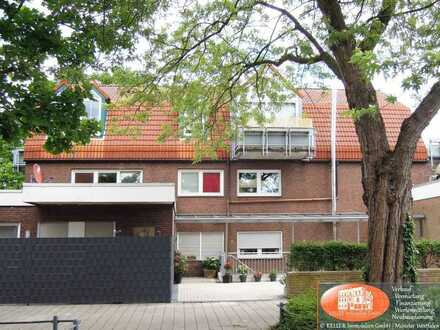 Neuwertige Souterrain-Wohnung mit Terrasse in Münster-Angelmodde